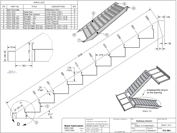 Stairs Design Detailing